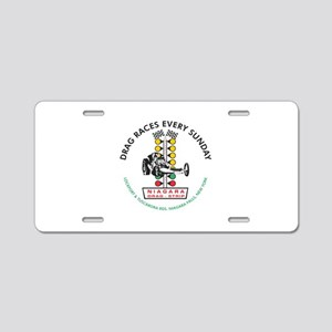 Niagara Drag Strip Aluminum License Plate